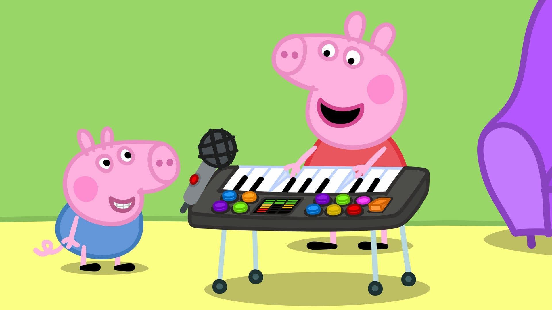 Peppa Pig Season 6 :Episode 9  Funny Music
