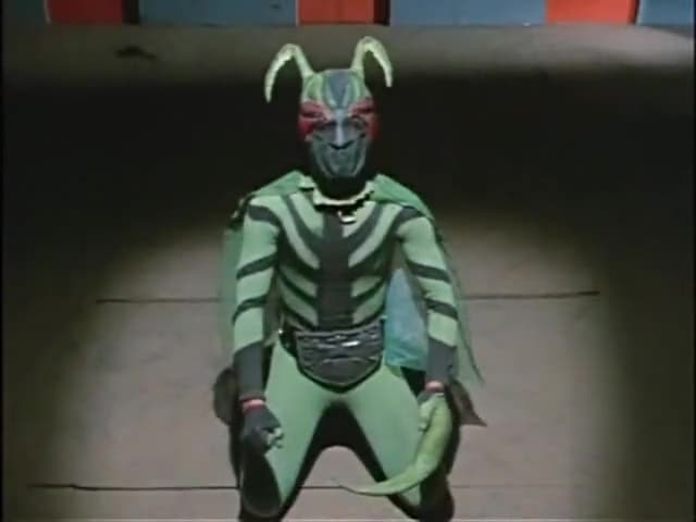 Kamen Rider Season 1 :Episode 5  Monster, Mantis Man