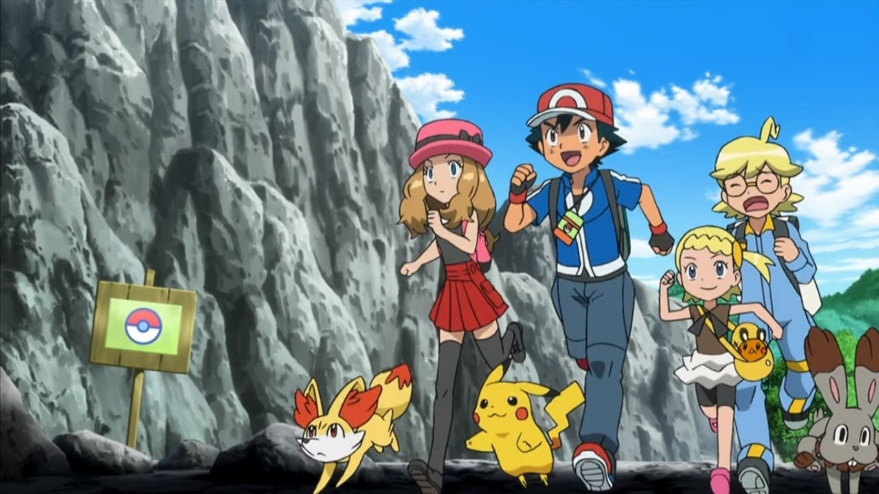 Pokémon Season 17 :Episode 40  Foggy Pokémon Orienteering!