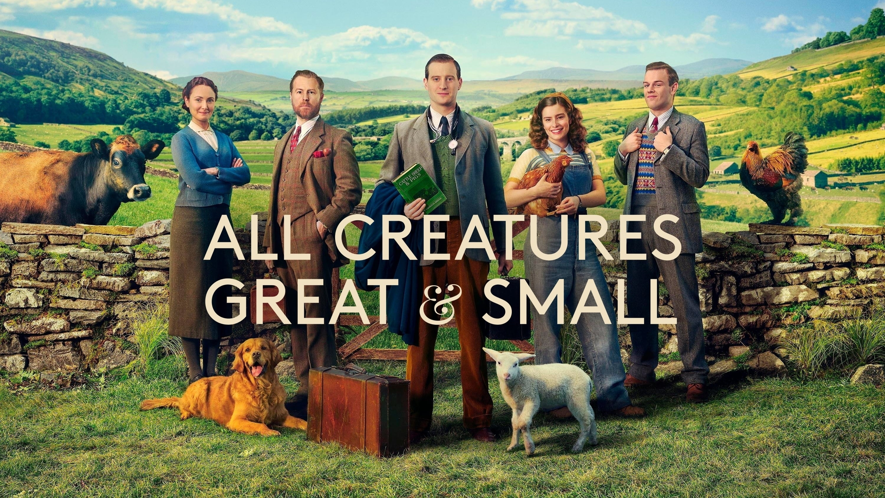 All Creatures Great and Small (2020) in april te zien bij BBC First