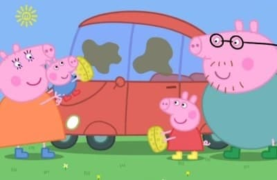 Peppa Pig Season 1 :Episode 33  Cleaning The Car