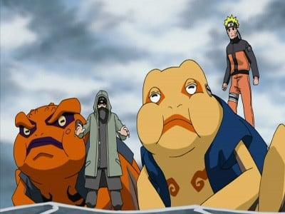 Naruto Shippūden Season 5 :Episode 105  The Battle Over the Barrier