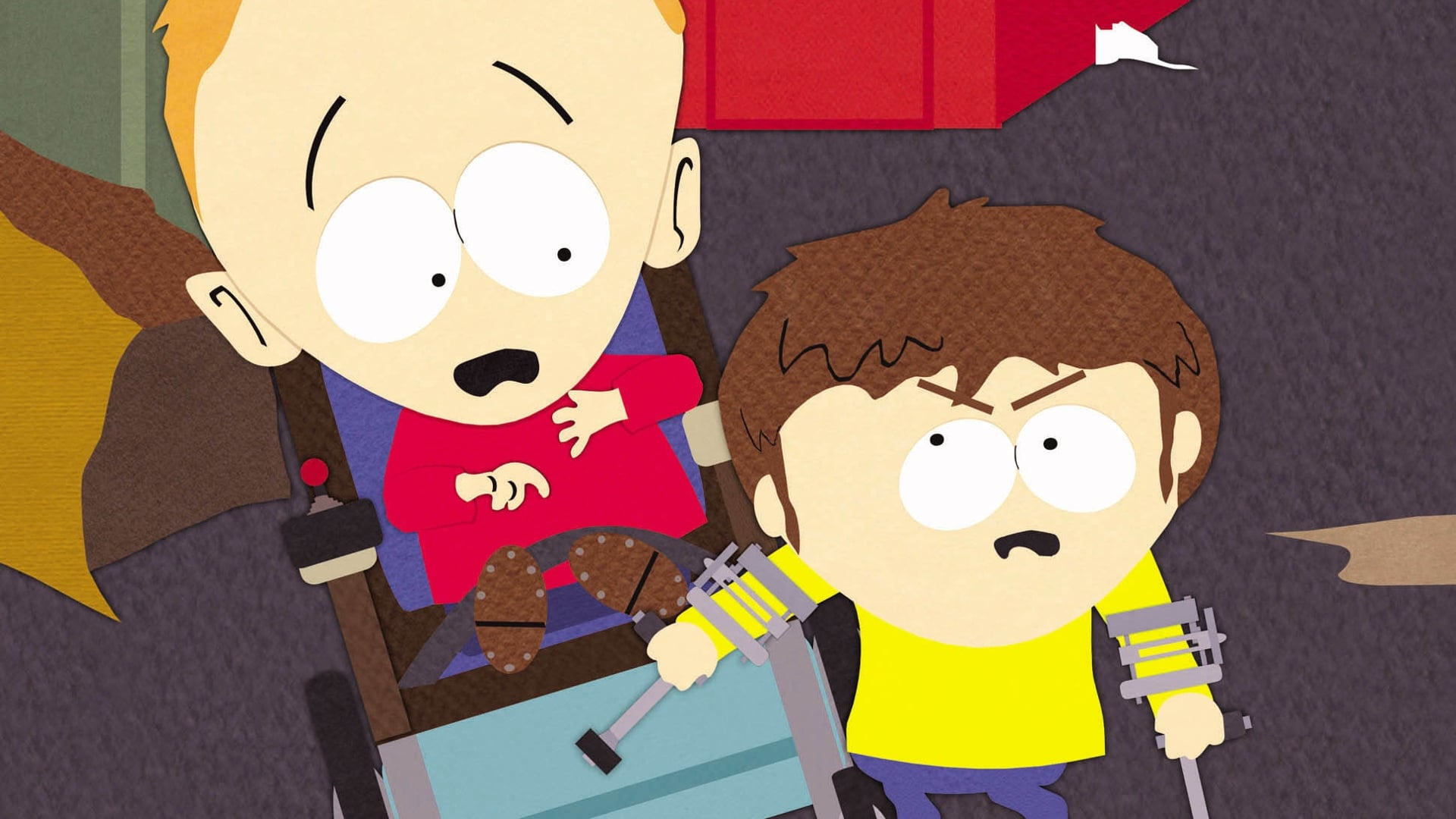 South Park Season 5 :Episode 2  Cripple Fight