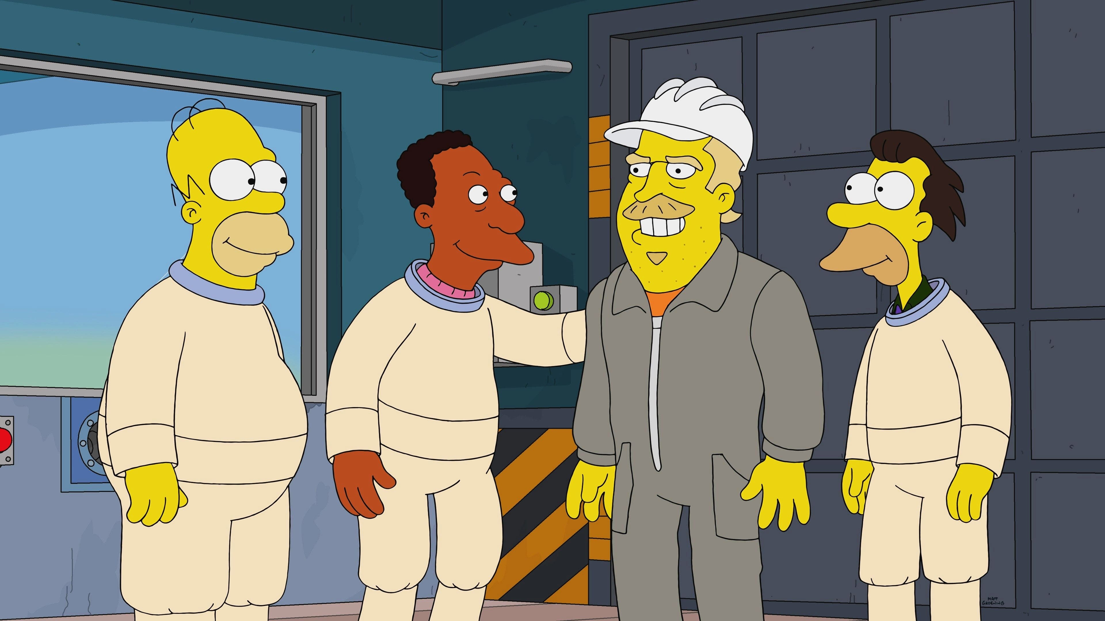 The Simpsons Season 32 :Episode 1  Undercover Burns