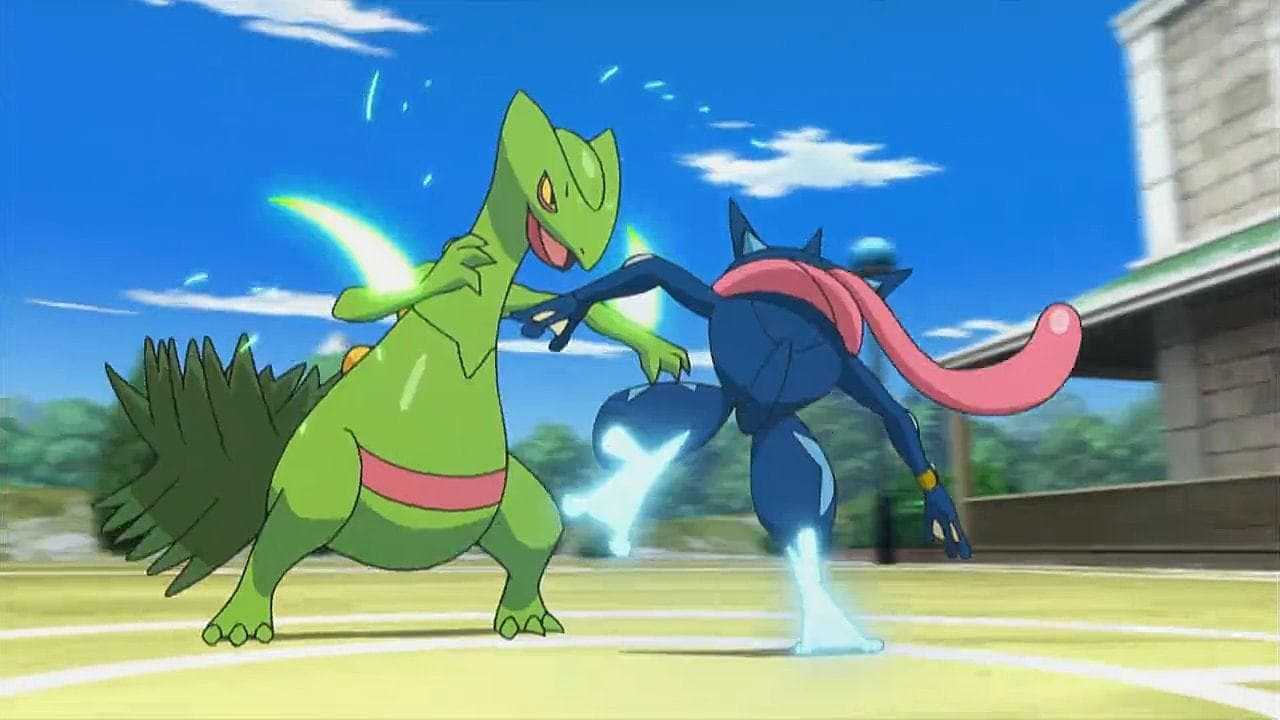 Pokémon Season 19 :Episode 26  A Full-Strength Battle Surprise!