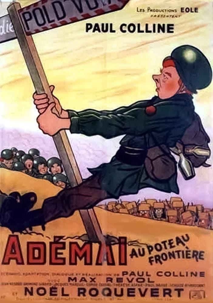 Adémaï at the border post (1950)