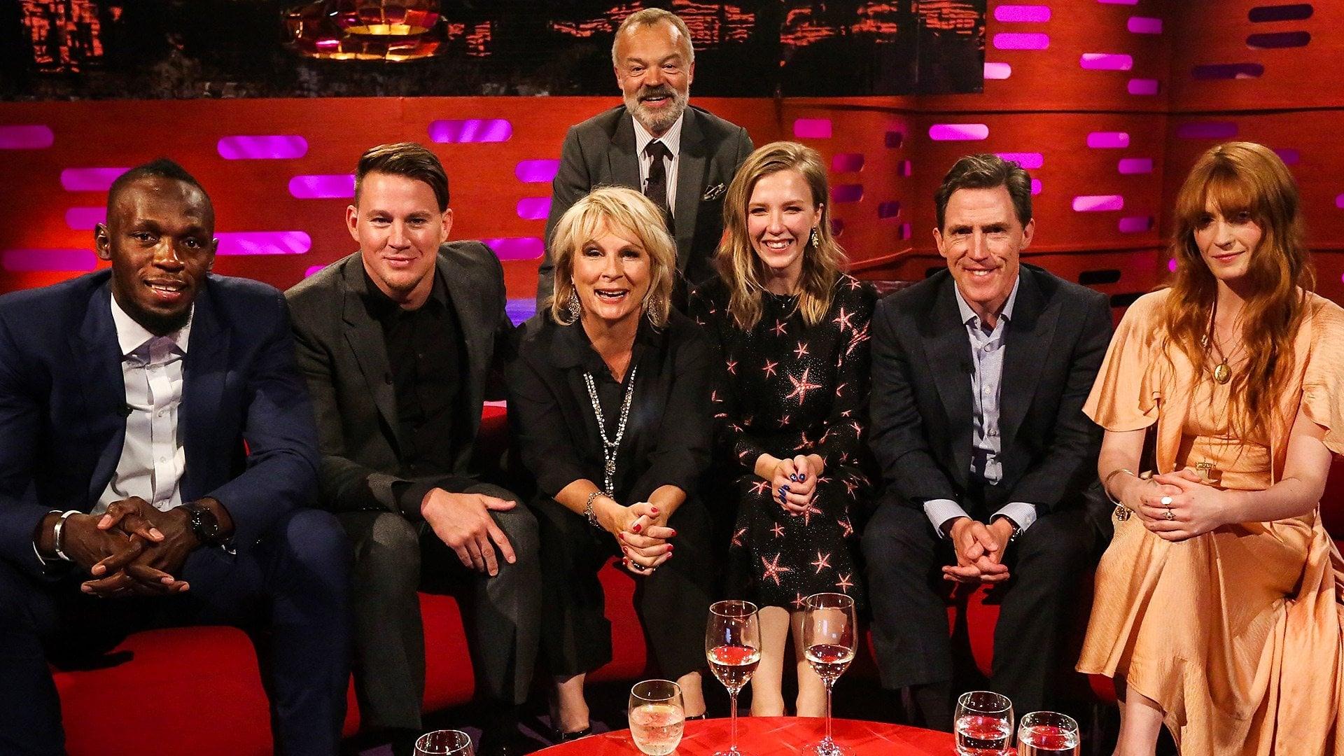 The Graham Norton Show Season 23 :Episode 10  Usain Bolt, Channing Tatum, Jennifer Saunders, Beattie Edmondson, Rob Brydon, Florence and the Machine