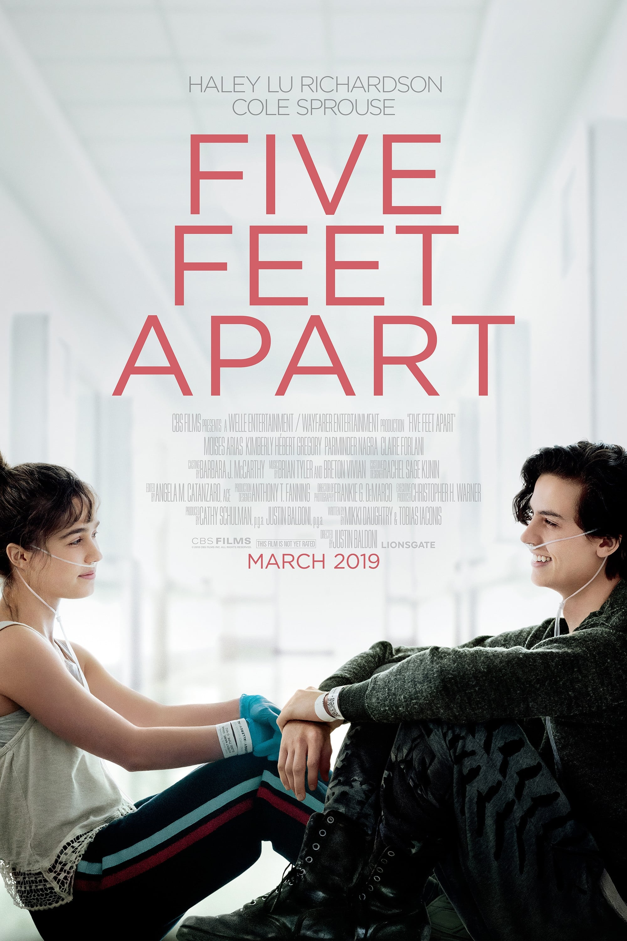 Poster and image movie Film Five Feet Apart - Five Feet Apart -  2019