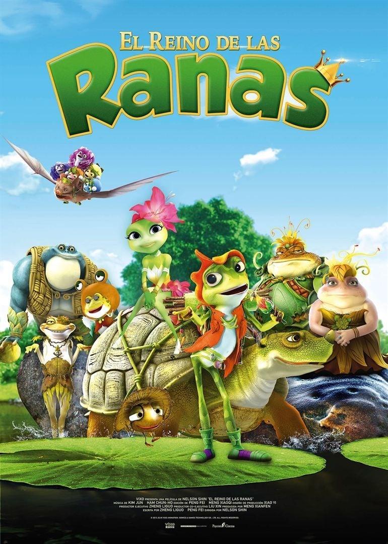 Póster El reino de las ranas