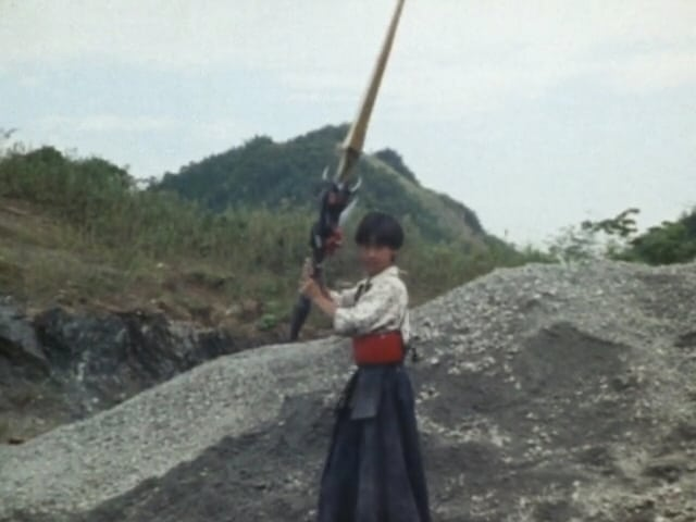 Super Sentai Season 14 :Episode 40  A Boy's Demonic Sword