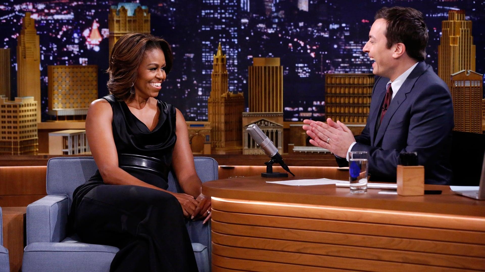The Tonight Show Starring Jimmy Fallon Season 1 :Episode 4  Michelle Obama, Will Ferrell, Arcade Fire