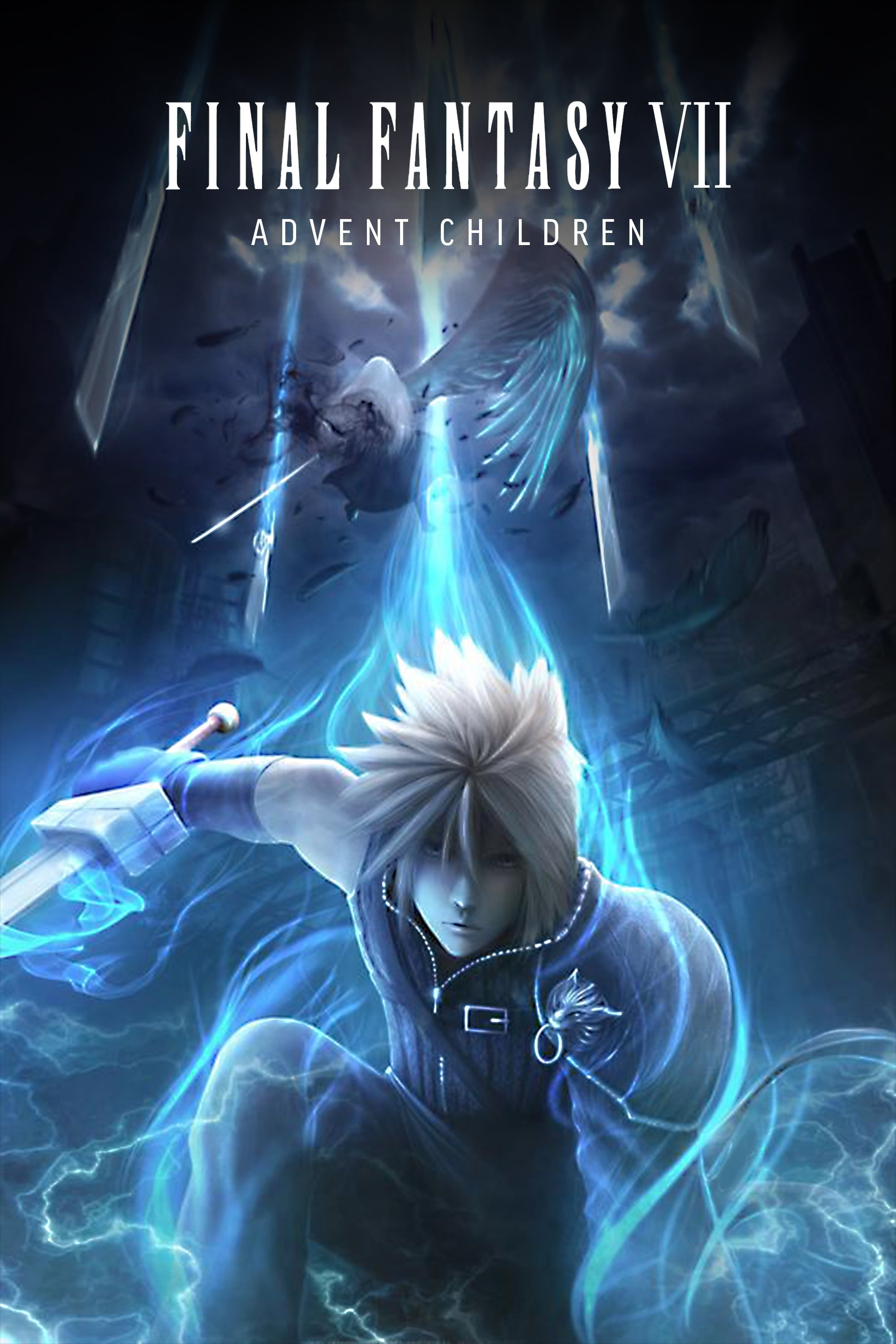 Final Fantasy Vii Advent Children 2005 Posters The Movie