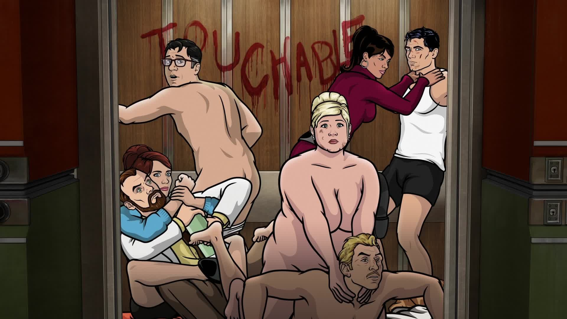 Archer - Season 6 Episode 5 : Vision Quest