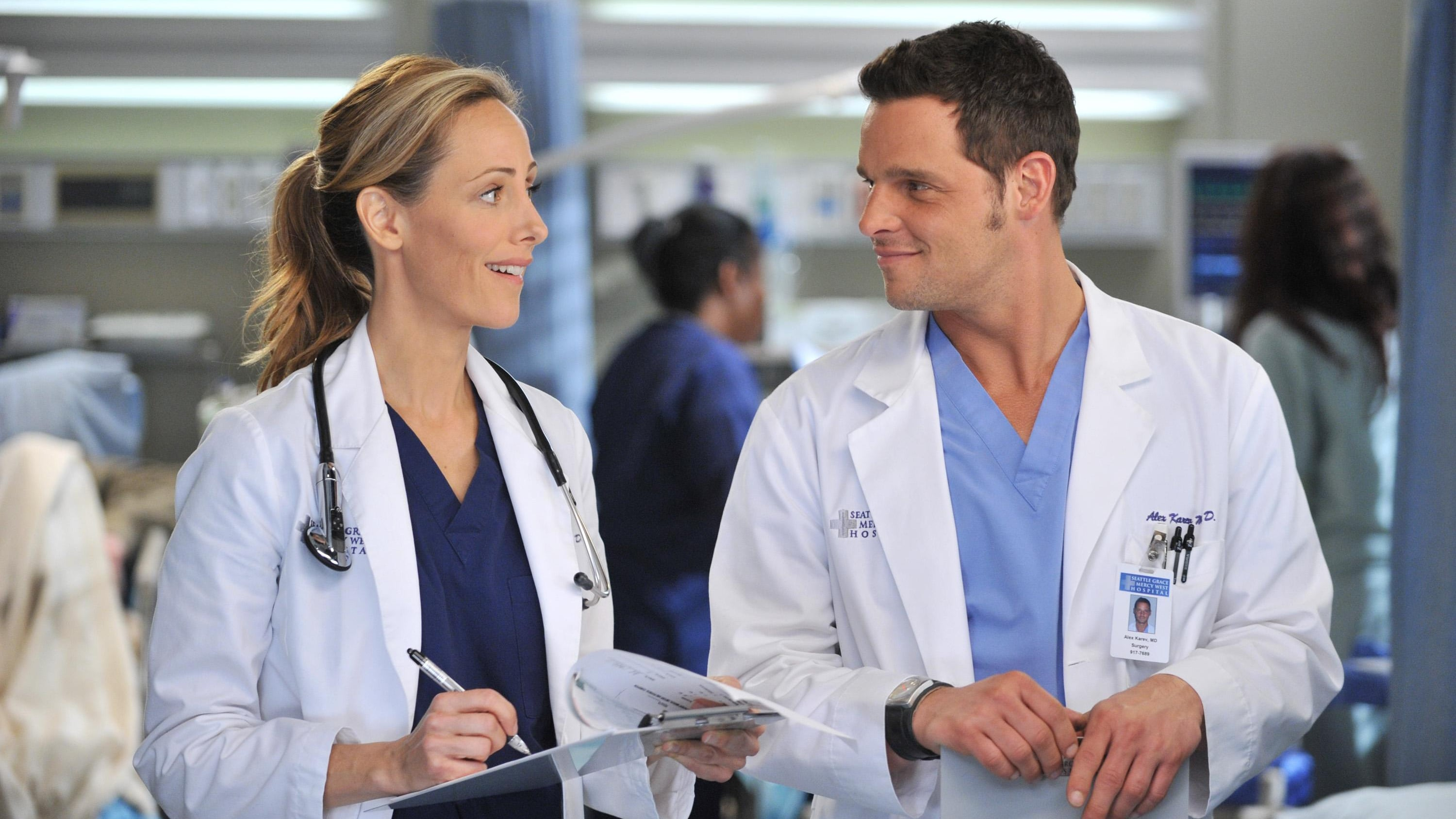 Grey's Anatomy Season 8 :Episode 18  The Lion Sleeps Tonight