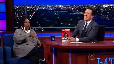 The Late Show with Stephen Colbert Season 1 :Episode 39  Whoopi Goldberg, John Kasich, Glen Hansard