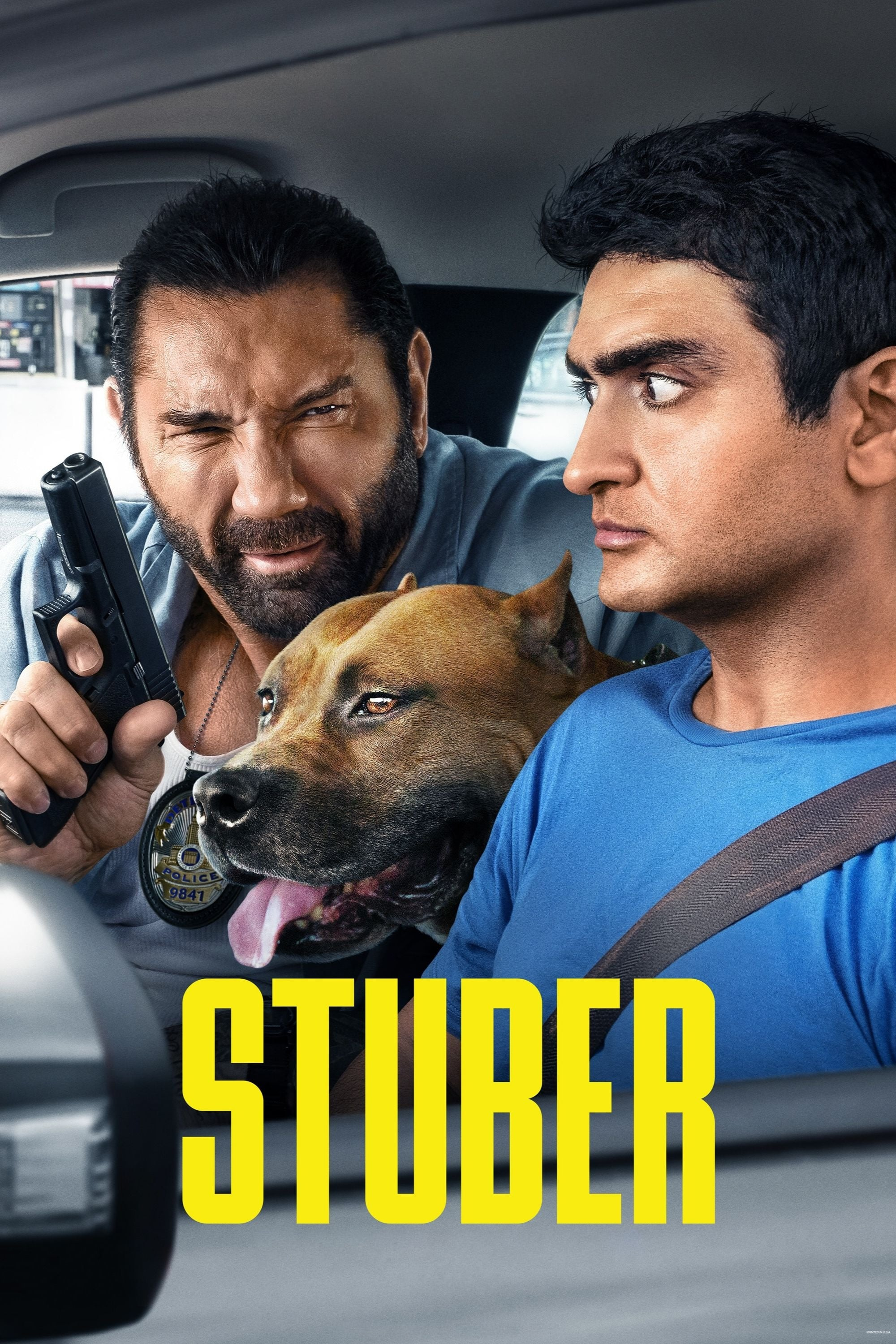 Poster and image movie Film Stuber 2019
