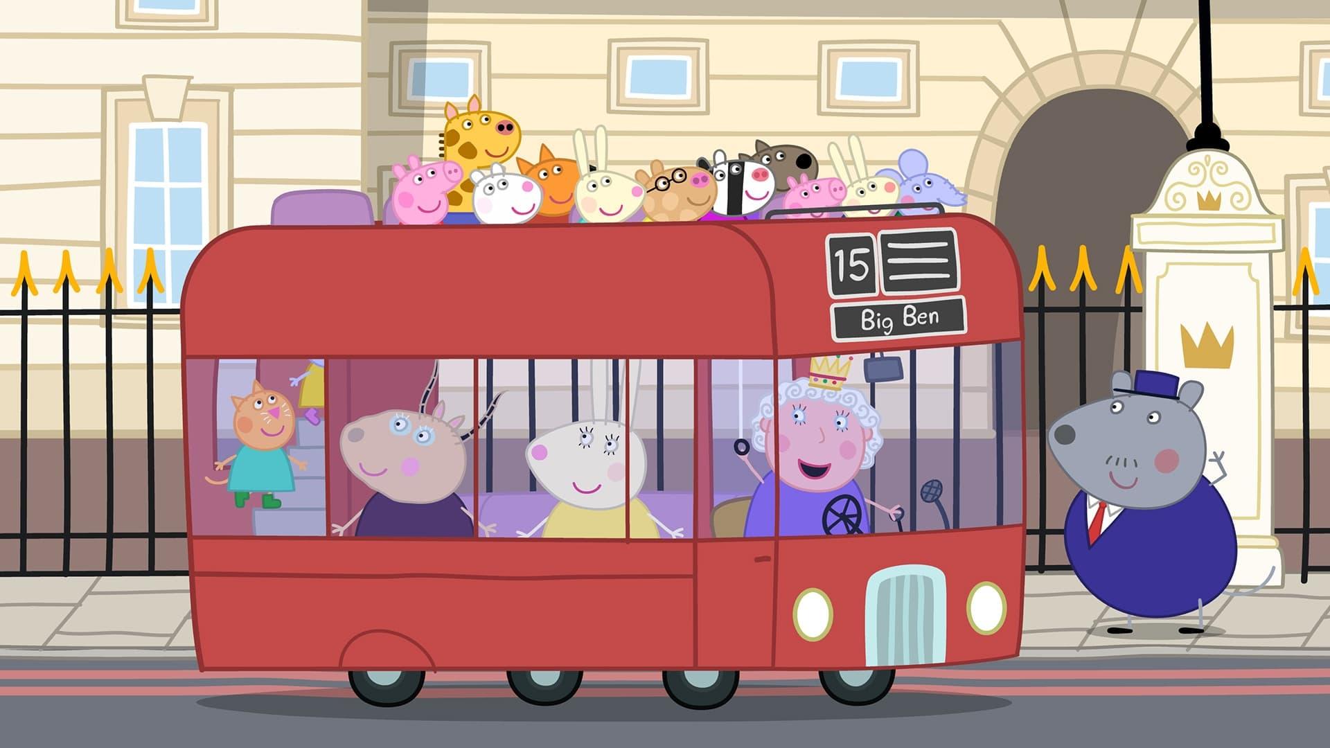 Peppa Pig Season 5 :Episode 15  London