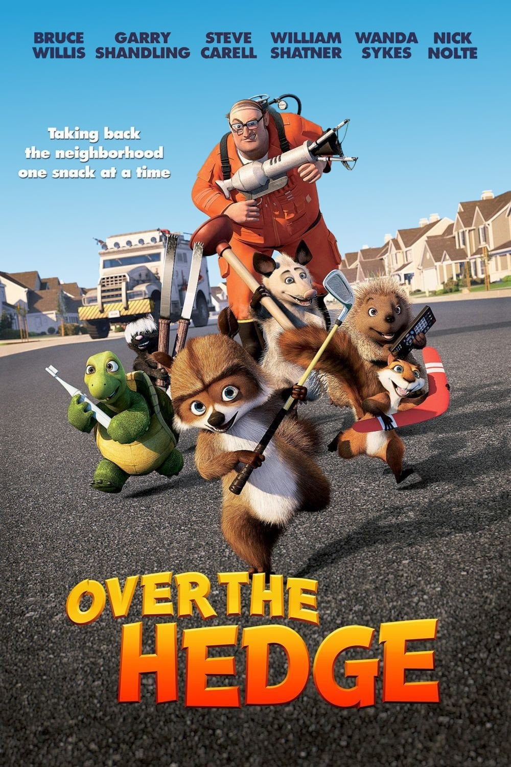 Anapus tvoros / Over the Hedge (2006) online