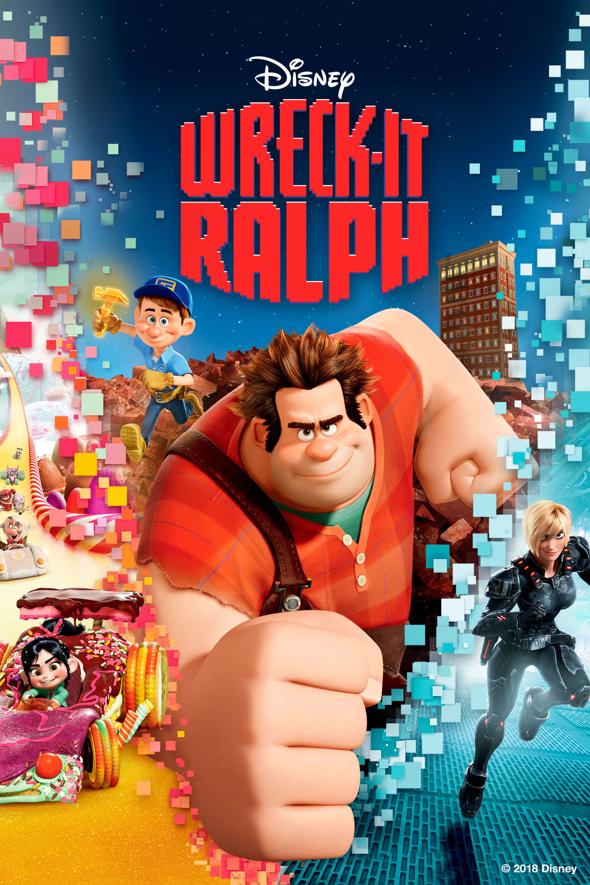 Wreck-It Ralph (2012) - Posters — The Movie Database (TMDb)