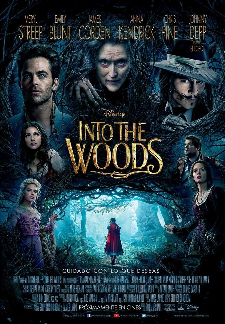 Póster Into the Woods
