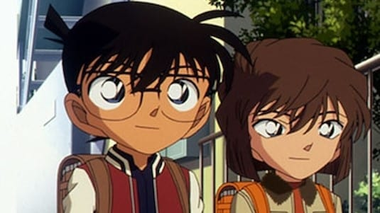 Case Closed Season 1 :Episode 423  Detective Boys and the Four Aomushi Brothers