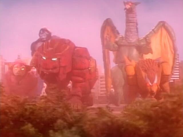Super Sentai Season 22 :Episode 6  Star-Beasts in Peril