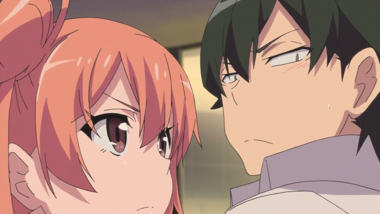 My Teen Romantic Comedy SNAFU Season 1 :Episode 10  The Distance Between Them Remains Unchanged as the Festival is Becoming a Carnival