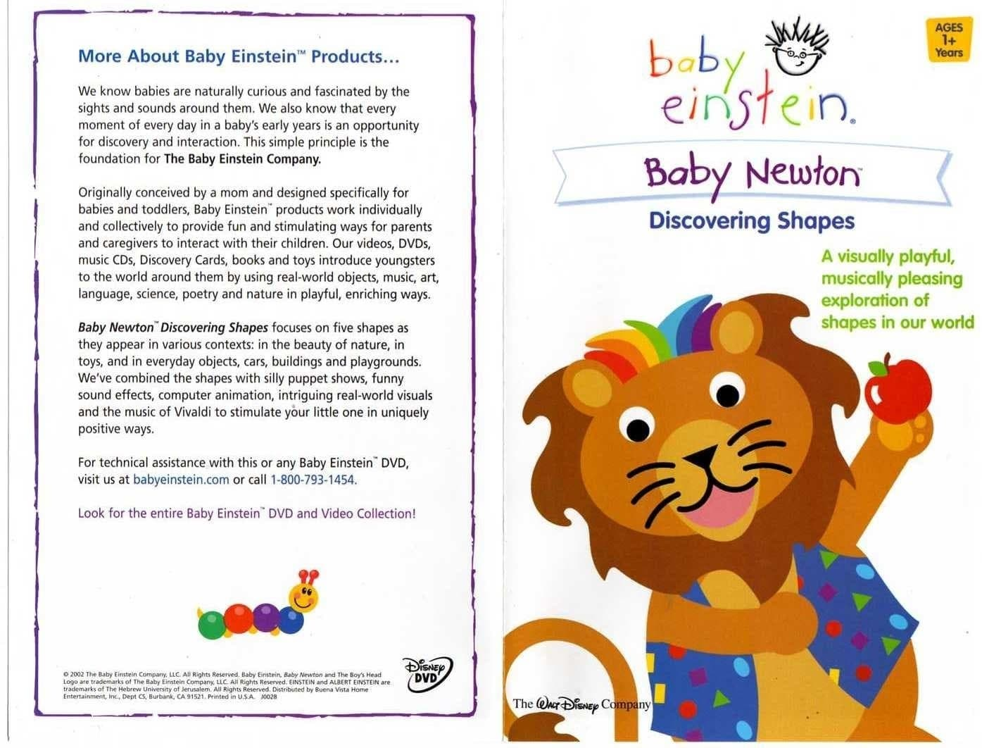 Baby Einstein Baby Newton 2002 Posters The Movie