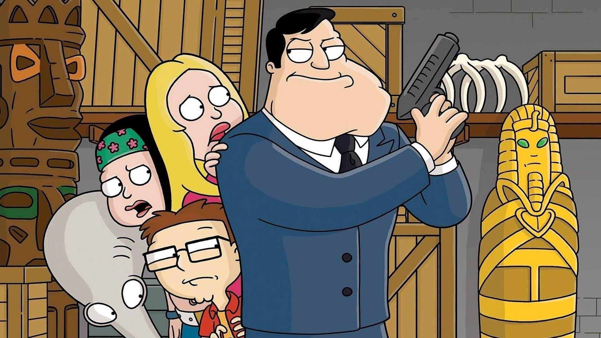 American Dad! Season 1 :Episode 5  Roger Codger
