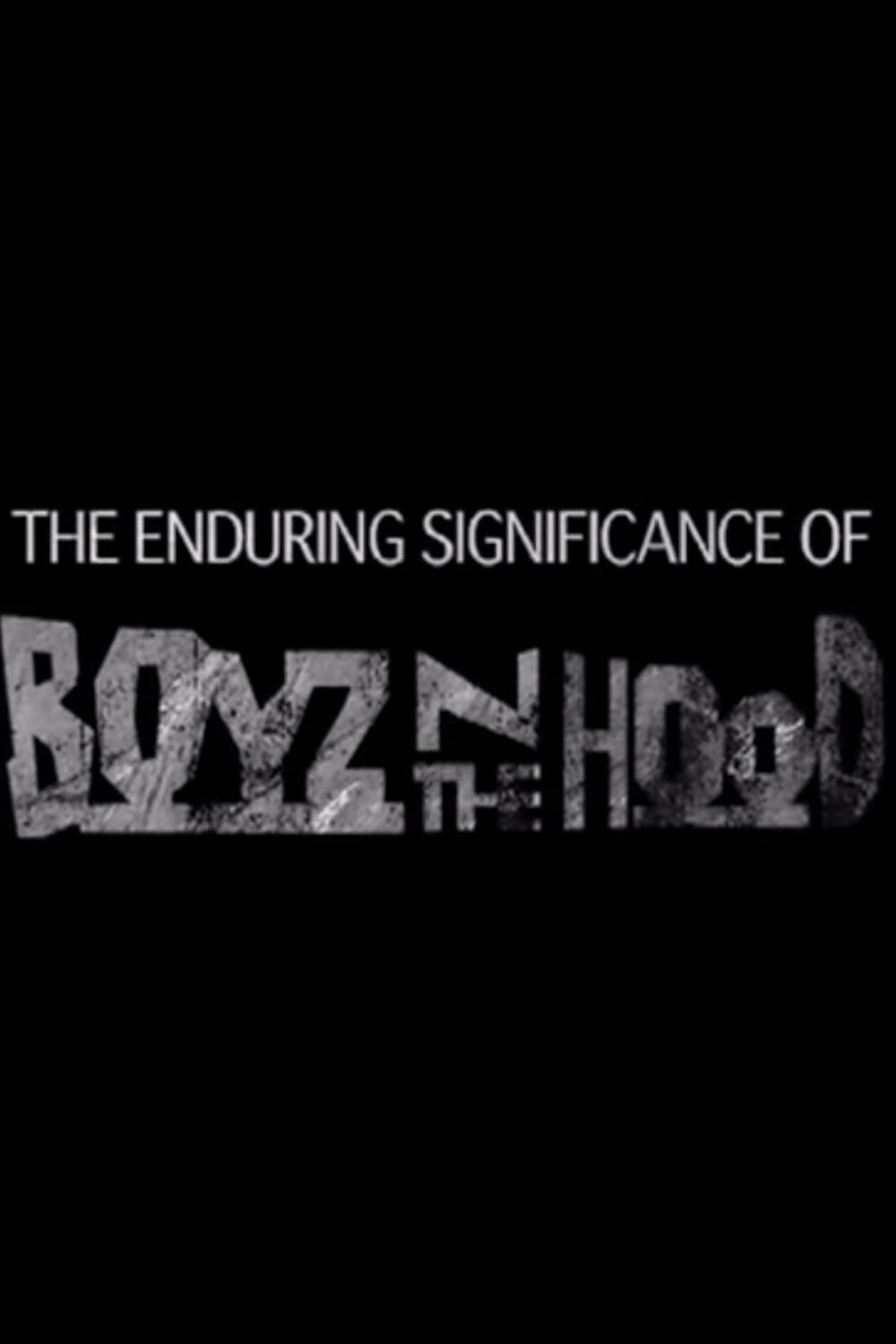 The Enduring Significance of Boyz n the Hood (2011)