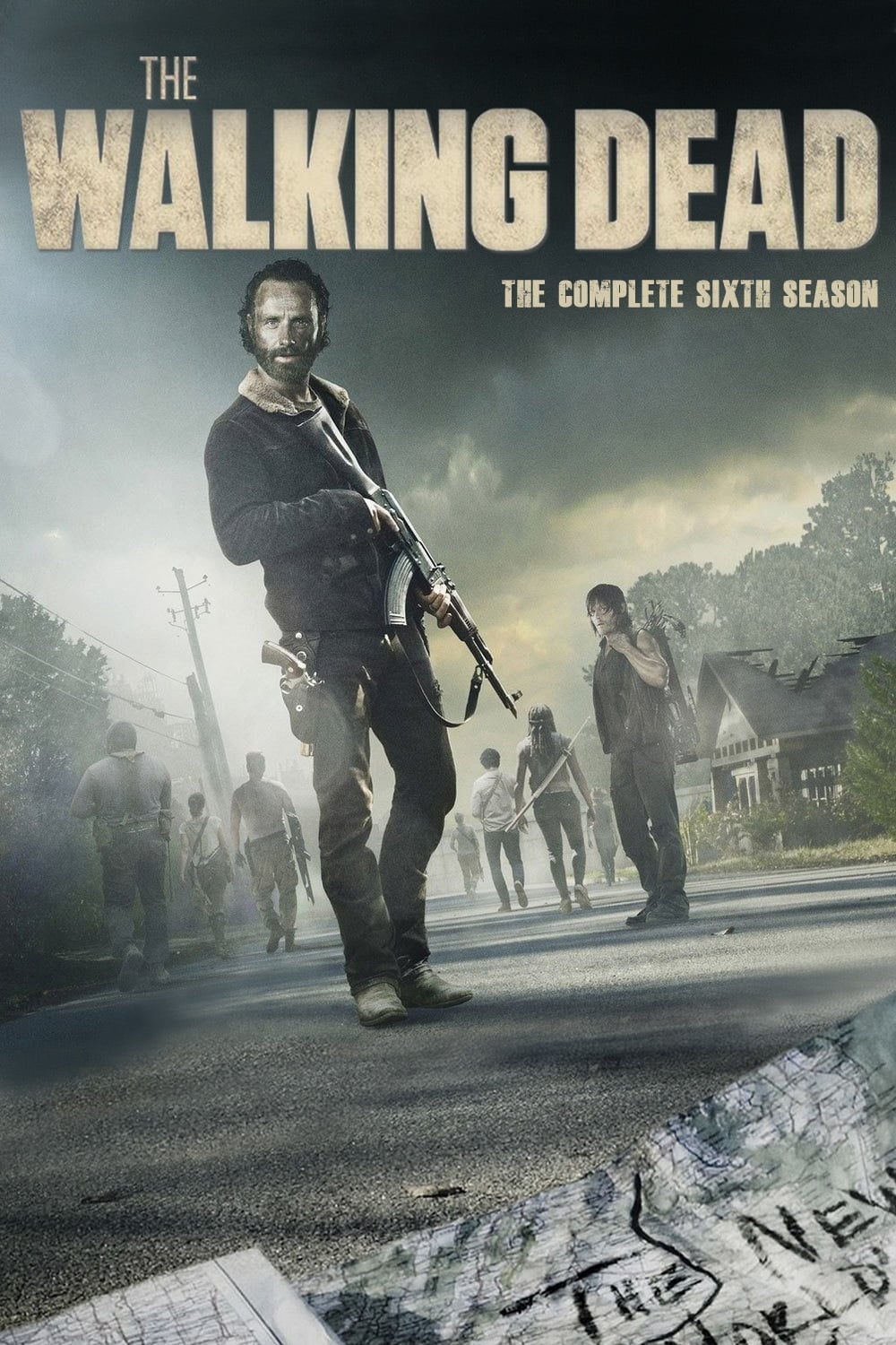 Assistir The Walking Dead - 6x07 - Legendado - Pense Rápido Online Legendado 1080p