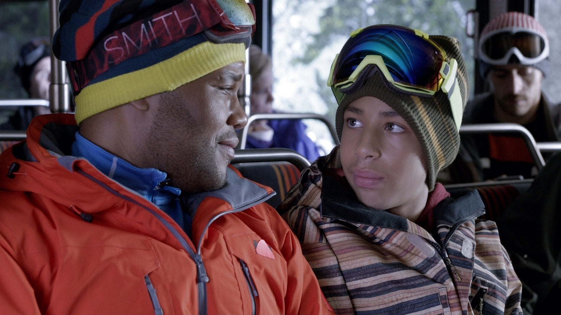 black-ish Season 1 :Episode 12  Martin Luther Skiing Day