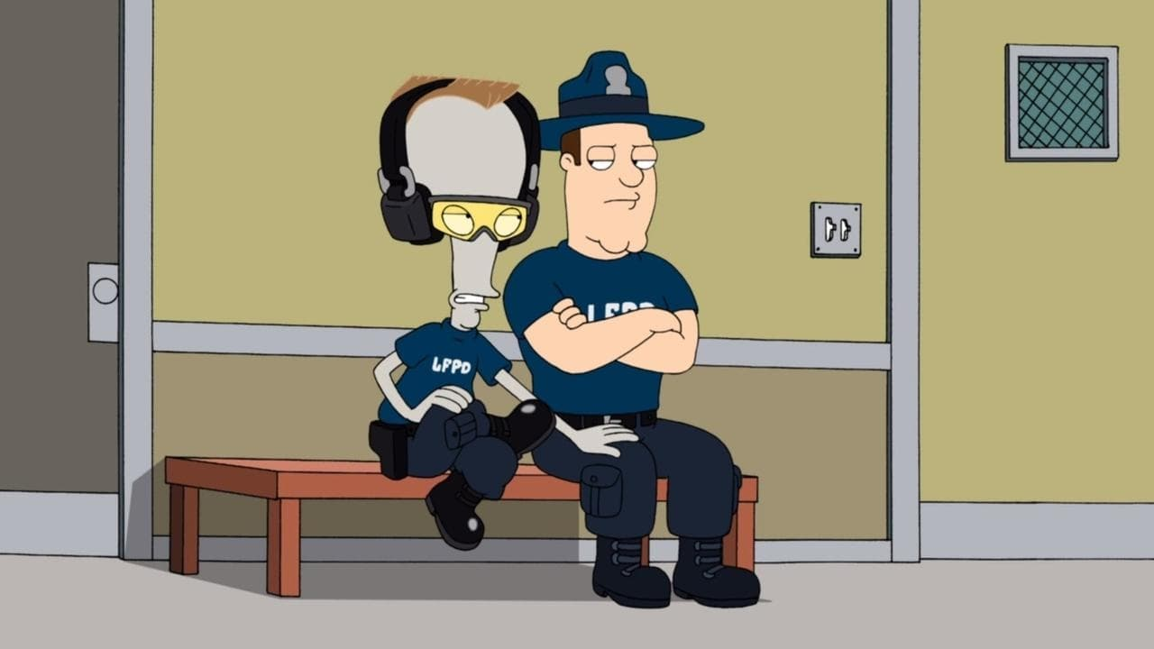 American Dad! Season 6 :Episode 14  Cops & Roger