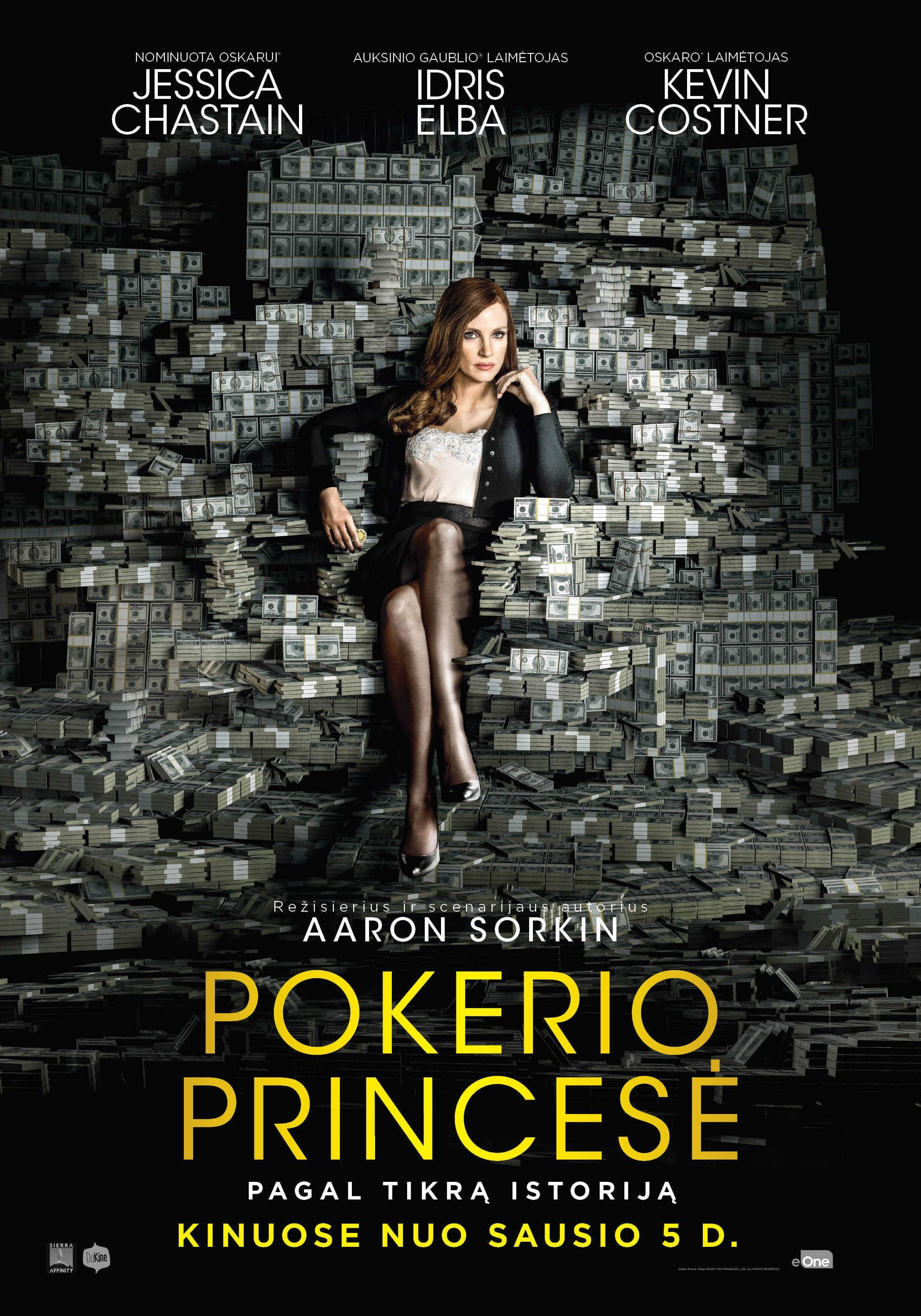 Pokerio princesė / Molly's Game (2017)