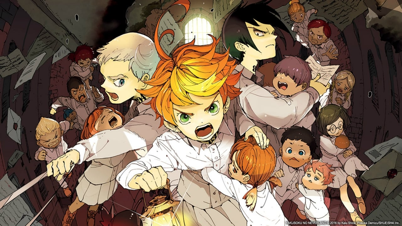 The Promised Neverland Tv Series 2019 Backdrops The Movie