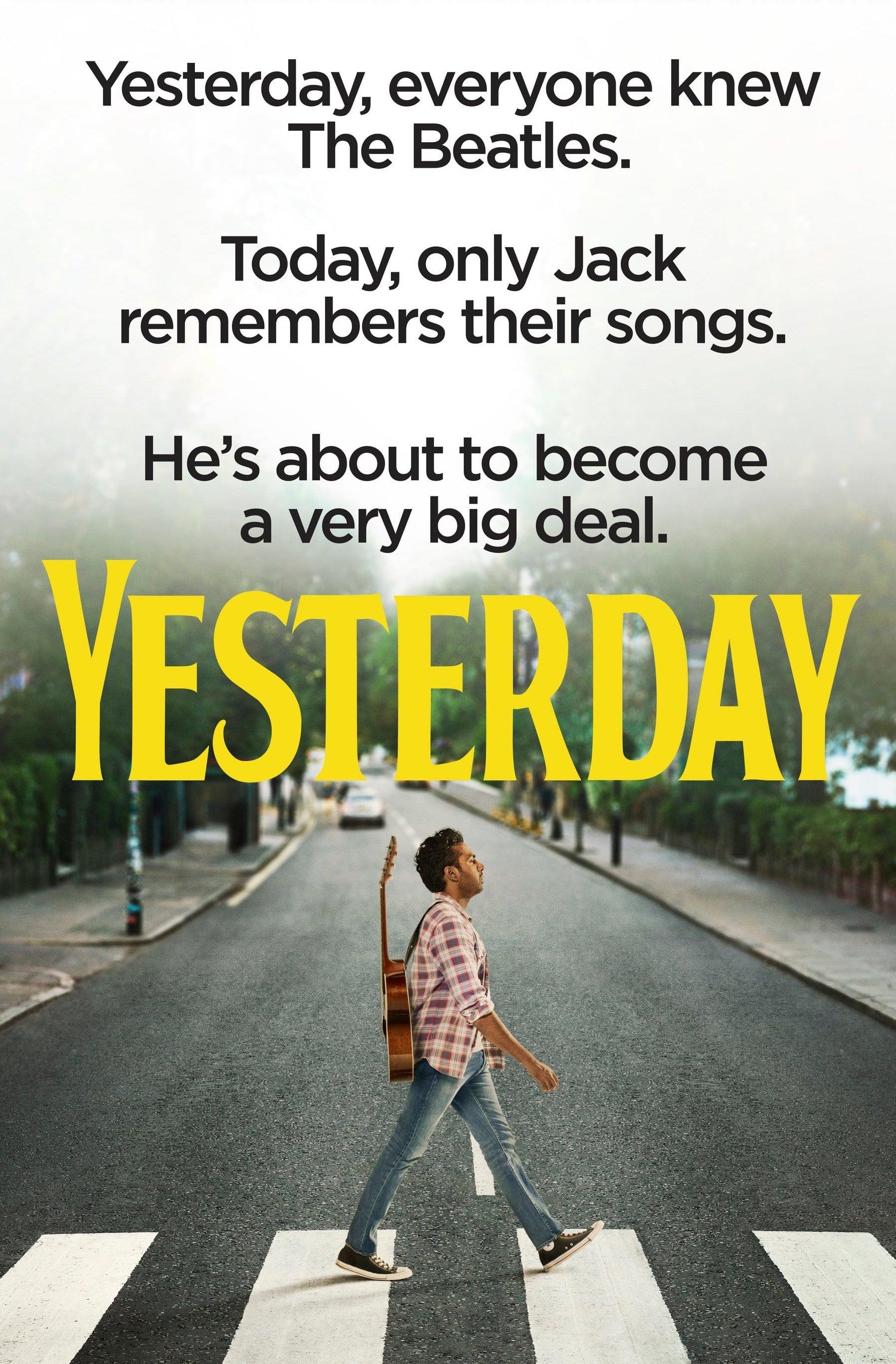 Poster and image movie Film Yesterday - Dar vakar -  2019