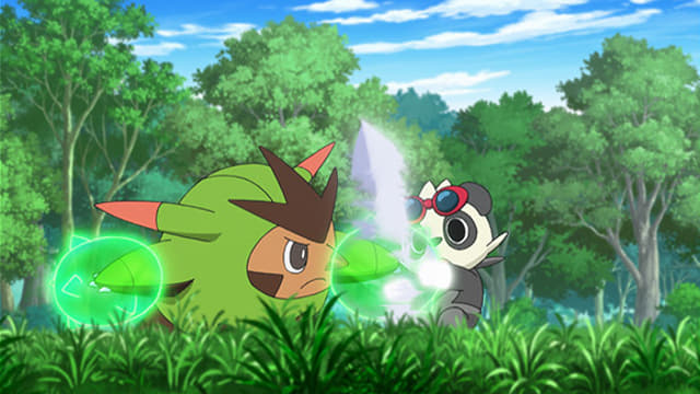 Pokémon - Season 19 Episode 2 : Love Strikes! Eevee, Yikes!