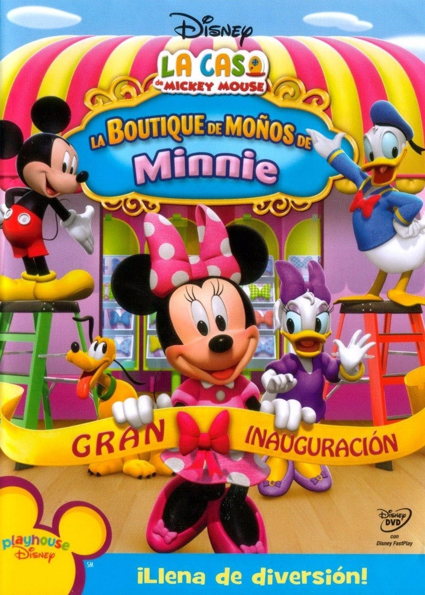 La Casa De Mickey Mouse: La Boutique De Moños De Minnie