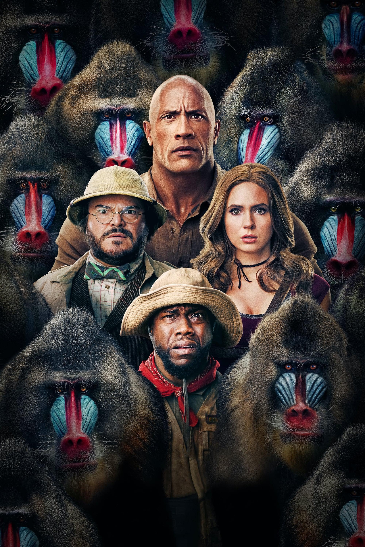 Poster and image movie Film Jumanji: The Next Level 2019
