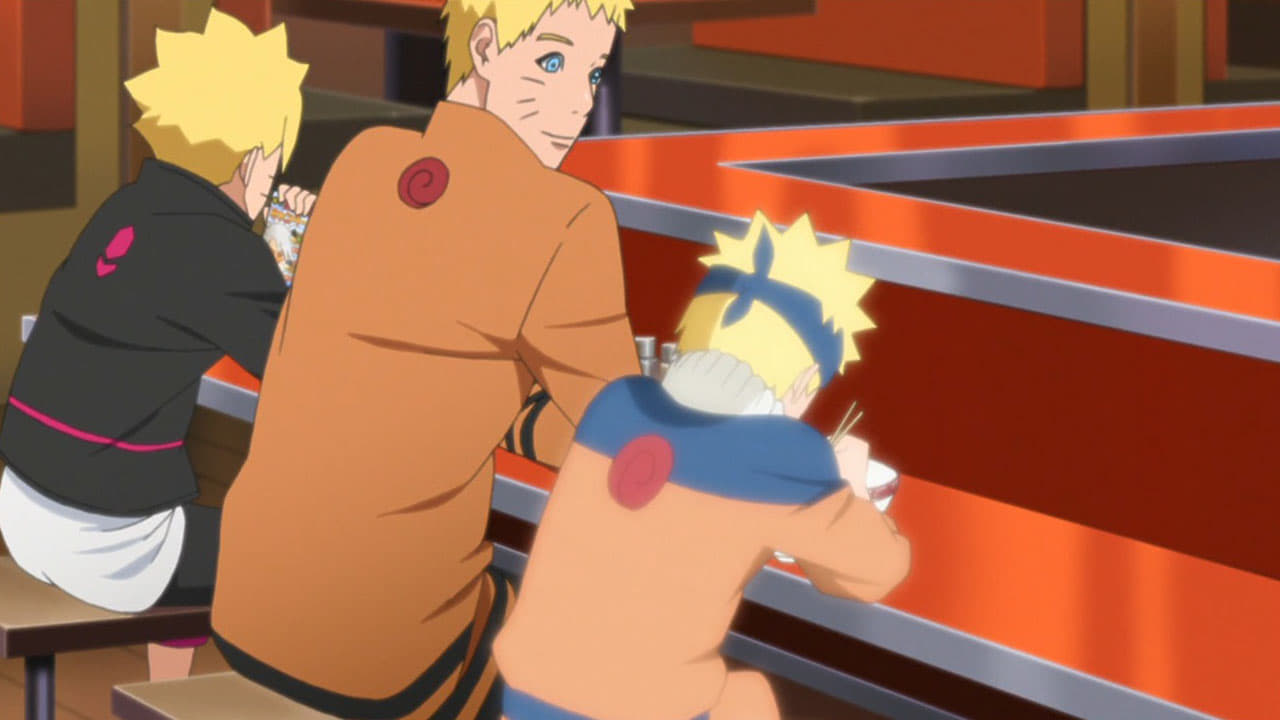 Boruto: Naruto Next Generations Season 1 :Episode 18  A Day in The Life of the Uzumaki Family