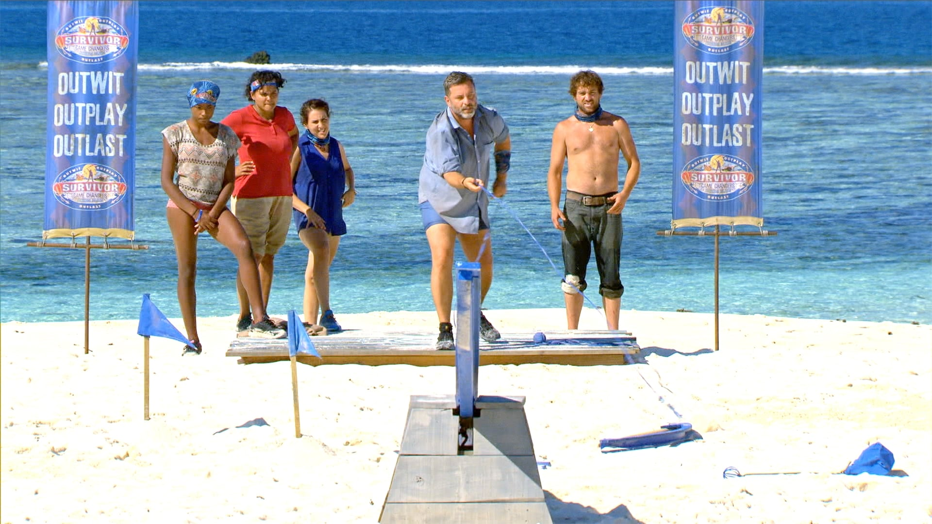 Survivor Season 34 :Episode 4  Dirty Deed