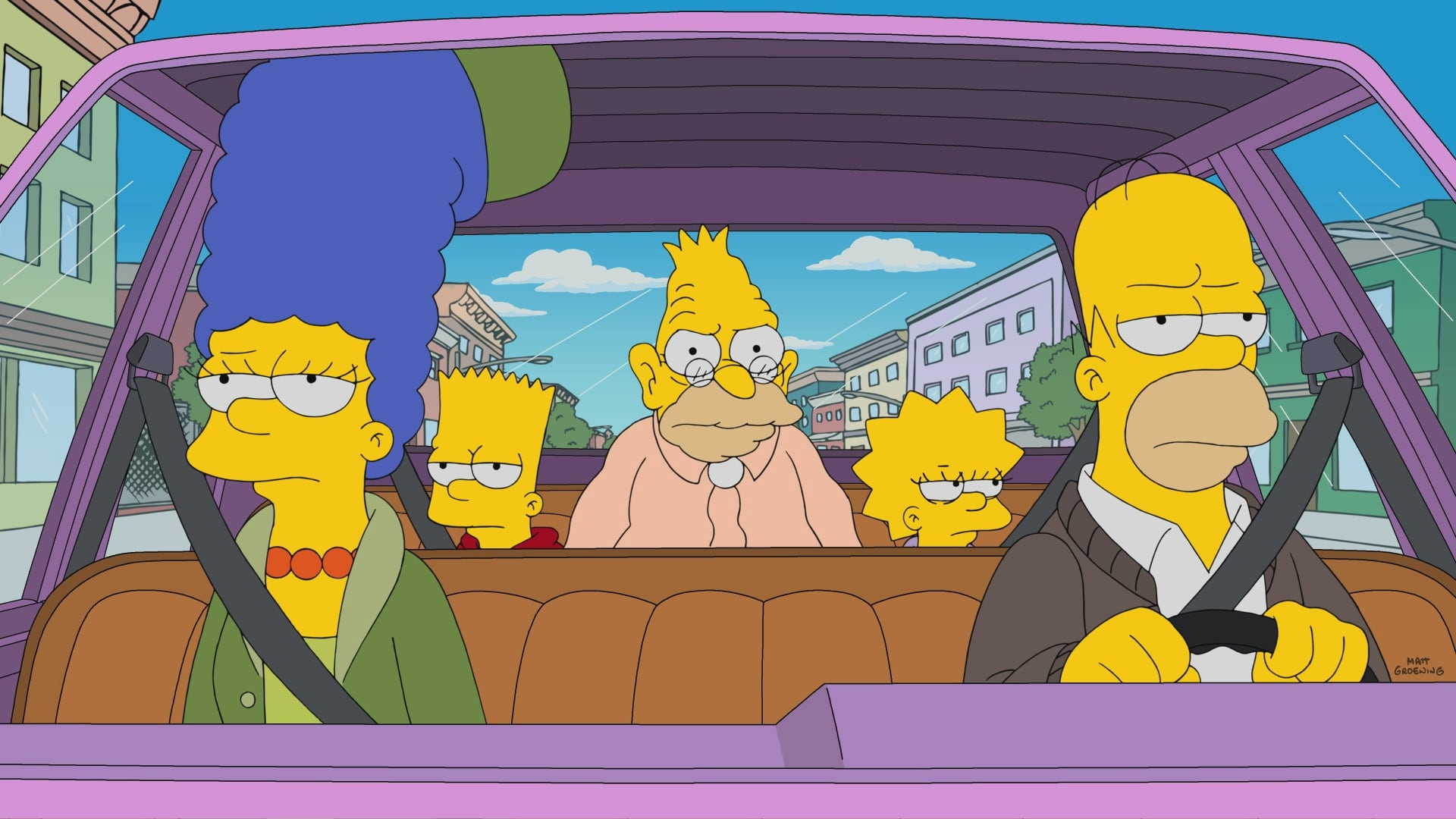 The Simpsons Season 29 :Episode 5  Grampy Can Ya Hear Me