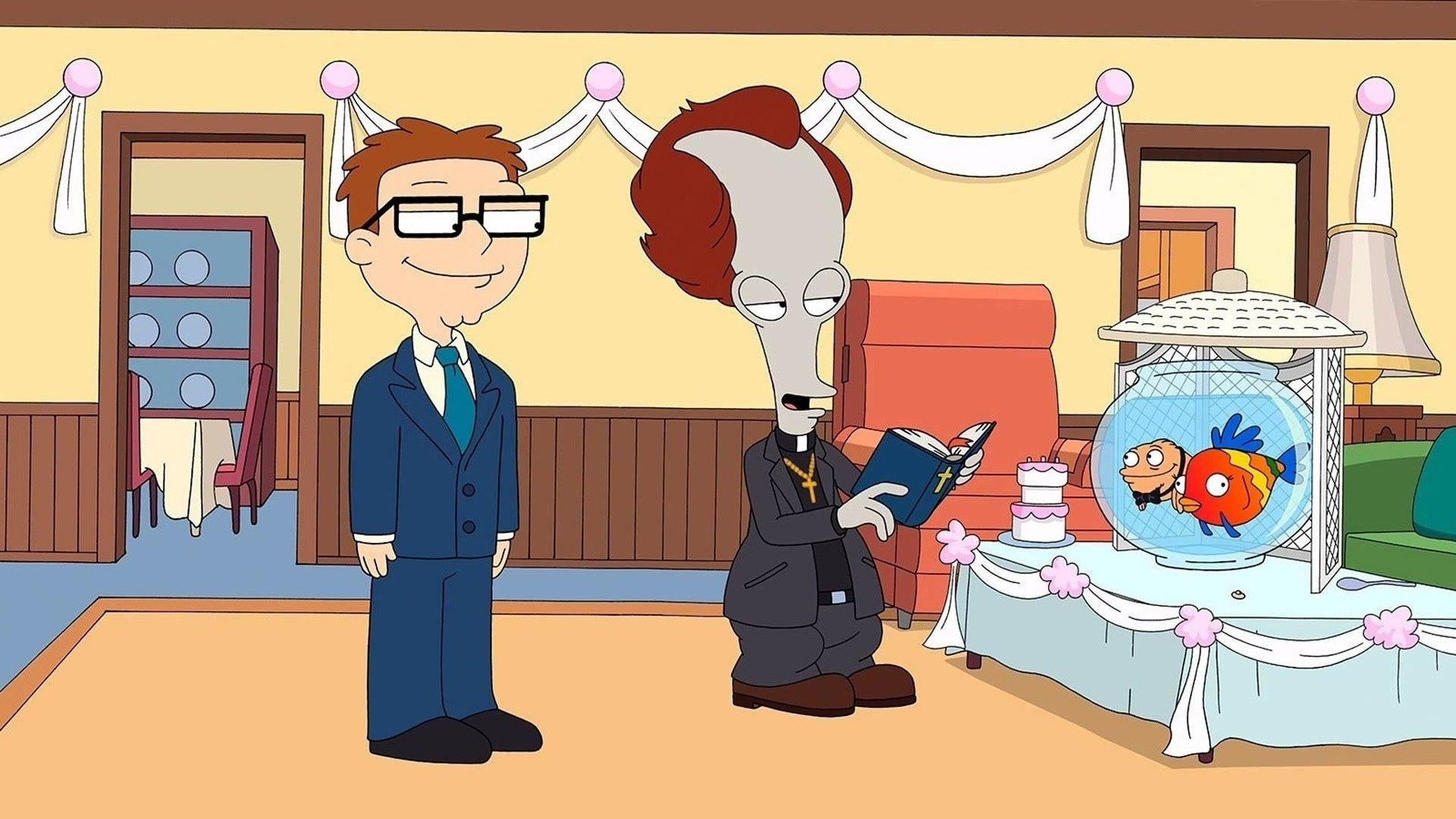 American Dad! Season 7 :Episode 5  White Rice