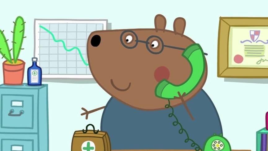Peppa Pig Season 5 :Episode 39  Doctors