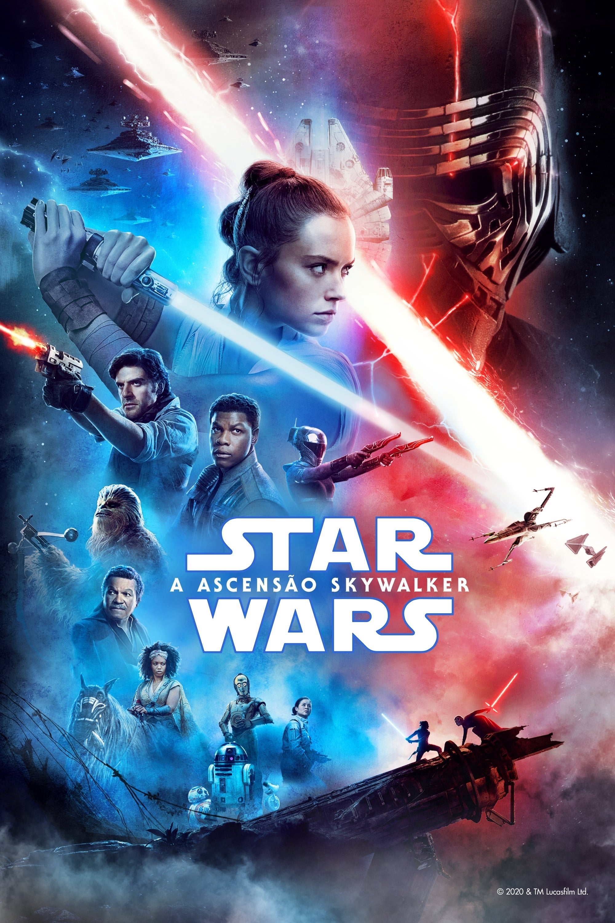 assistir filme star wars: a ascensão skywalker