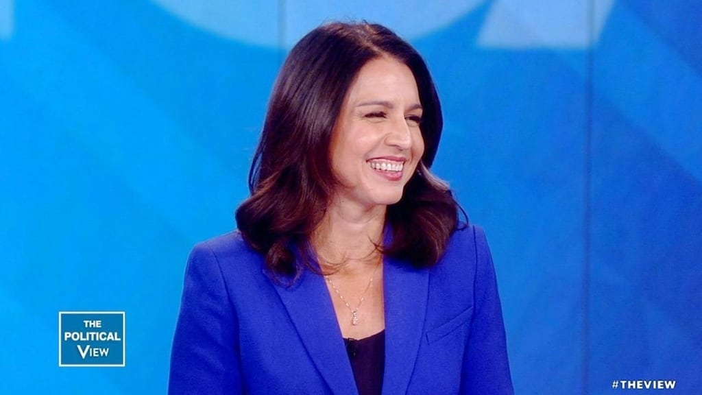 The View Season 22 :Episode 200  Tulsi Gabbard