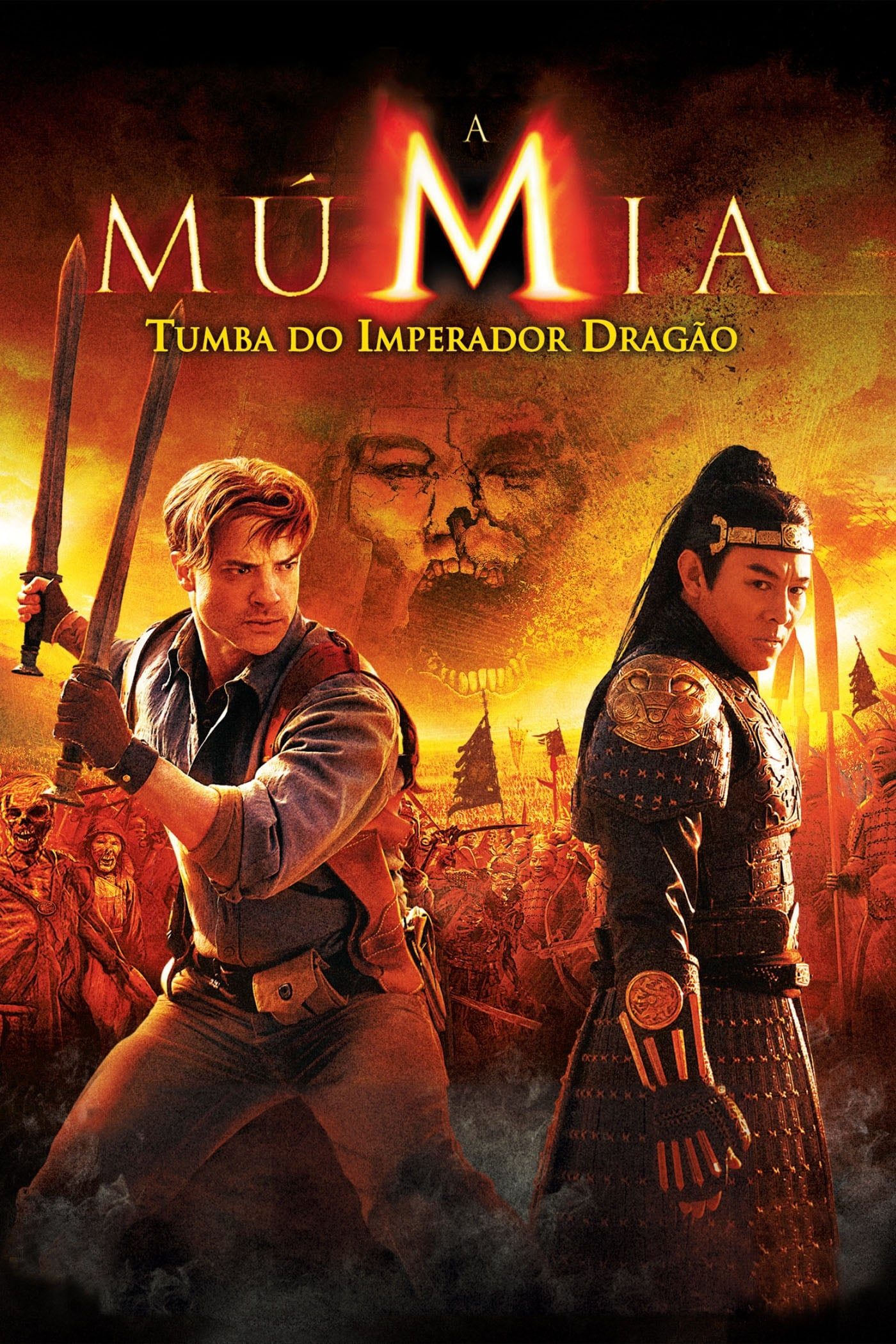 capa A Múmia: Tumba do Imperador Dragão