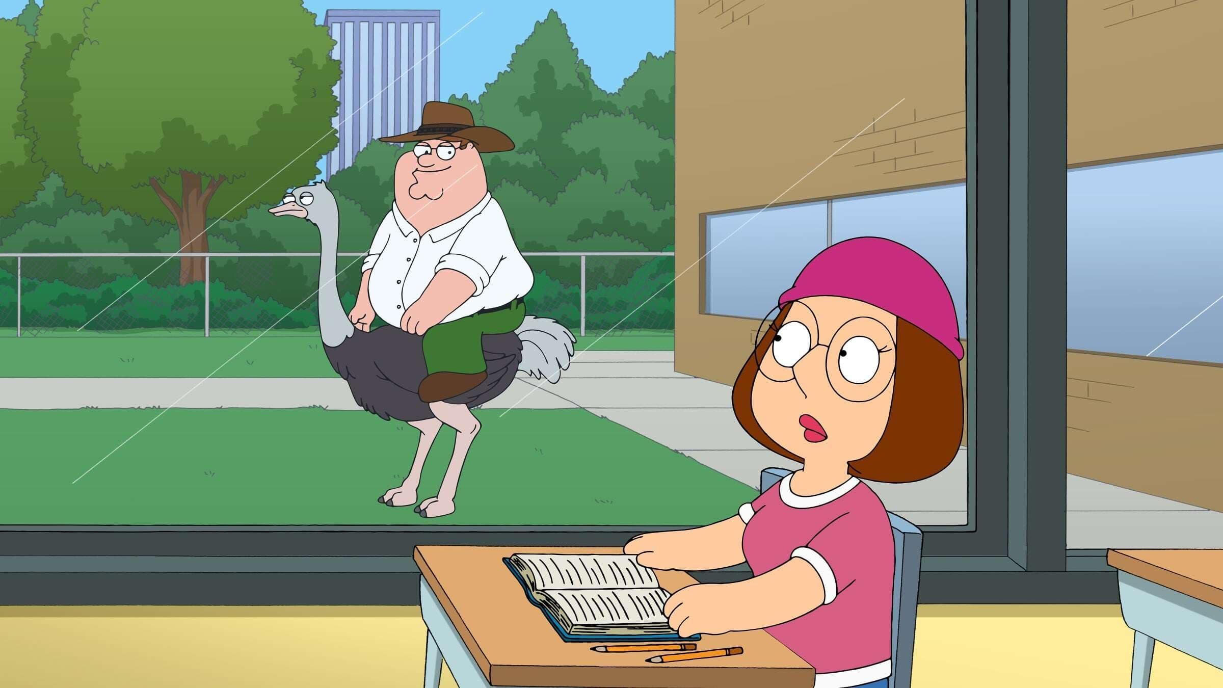 Family Guy Season 12 :Episode 18  Baby Got Black