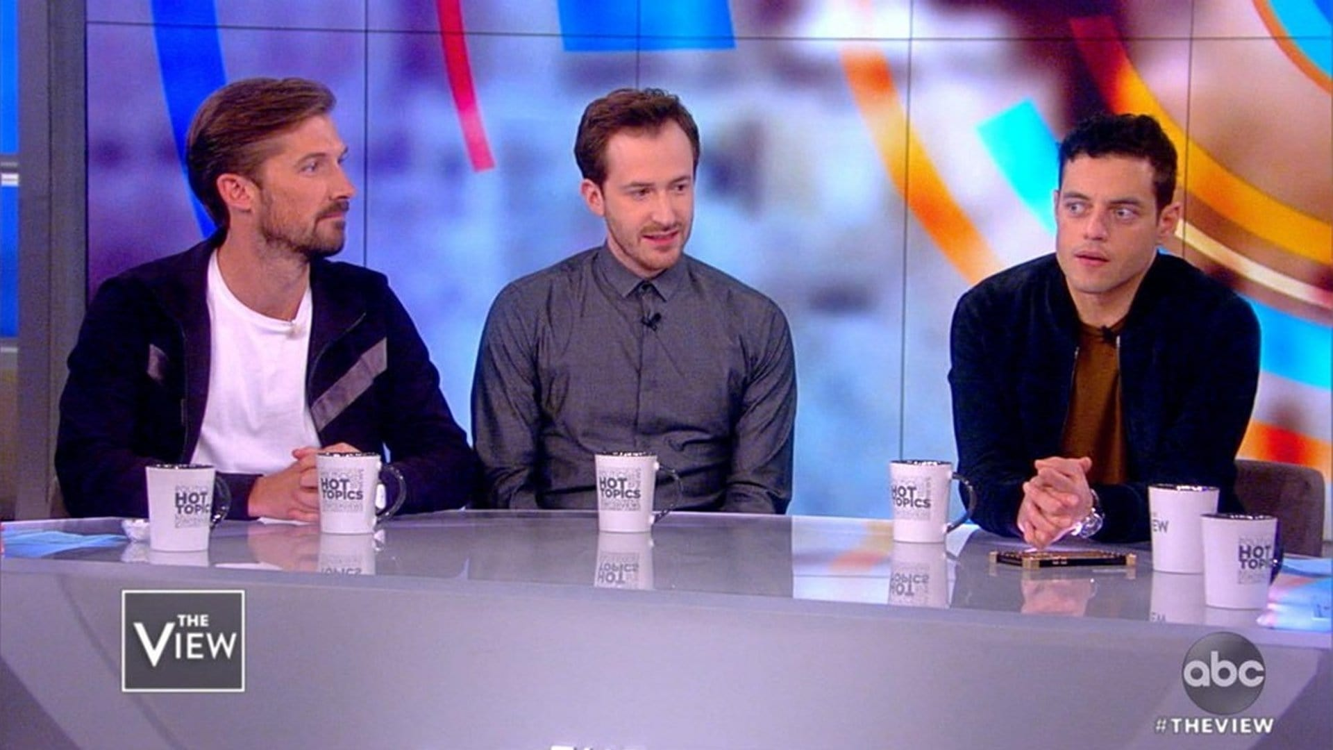 The View Season 22 :Episode 43  Rami Malek, Joe Mazzello, and Gwilym Lee