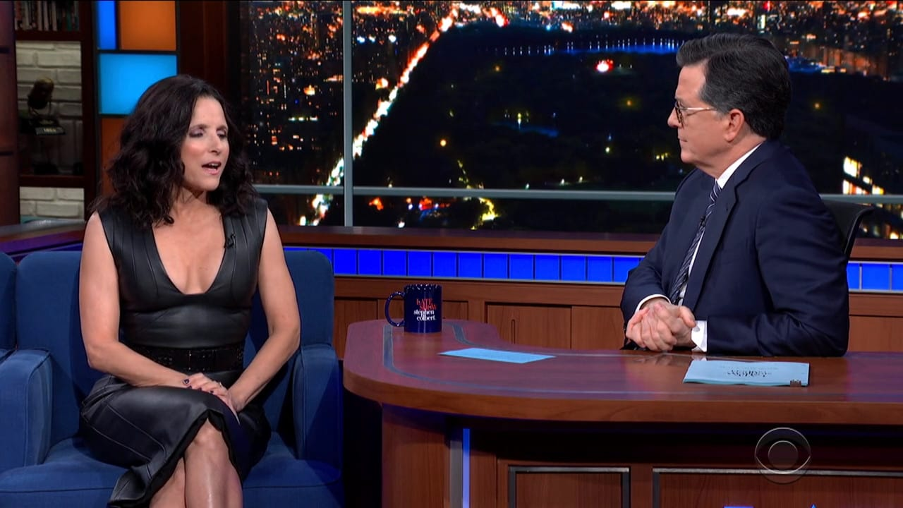 The Late Show with Stephen Colbert Season 5 :Episode 88  Julia Louis-Dreyfus